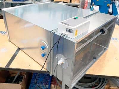 Desinfección UV de Conductos de Aire Acondicionado